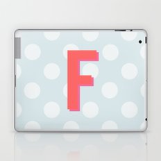 F is for Fantastic Laptop & iPad Skin