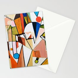 Abstract Beginning Stationery Cards