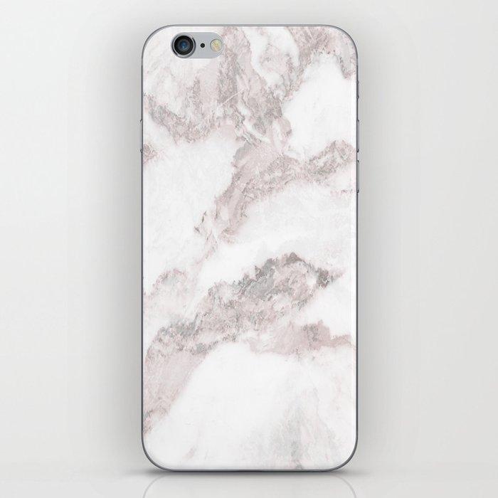 White Marble Mountain 011 iPhone Skin