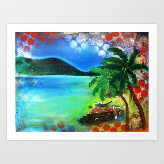 Flamenco Culebra Art Print