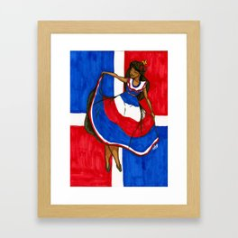 Quisqueyanos Valientes Framed Art Print