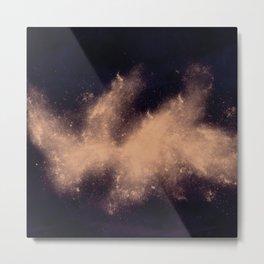 War Abstract Galaxy Nebula Space V1 Metal Print