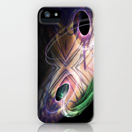 Analogue Portal Patch iPhone Case