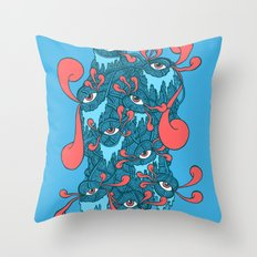 Of the Beholder Throw Pillow
