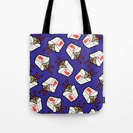 Take-Out Noodles Box Pattern Tote Bag