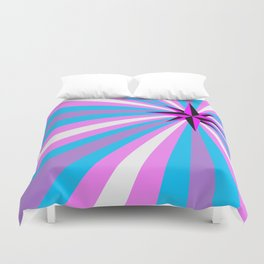 Queer Trans Anarchy Flag Duvet Cover