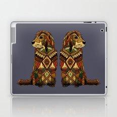 Golden Retriever dusk Laptop & iPad Skin