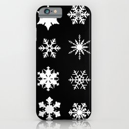 Snowflake Collection iPhone Case