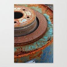 Urban Circles Canvas Print