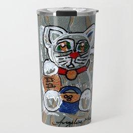 Do Enlightened Generosity Lucky Cat Travel Mug