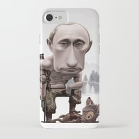 putin iPhone & iPod Cases featuring Putin by cristosalgado