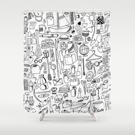 """MO-dit_trucs""#01 Shower Curtain"