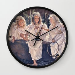 Reproduction Candle in the wind Steve Hanks Wall Clock