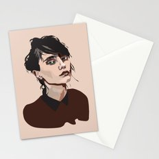 Superior Girl Stationery Cards