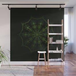 green sun Wall Mural