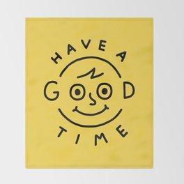 Good Times Throw Blanket