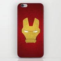 ironman iPhone & iPod Skins featuring Ironman by Liquidsugar