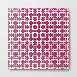 Pink Plummer Metal Print