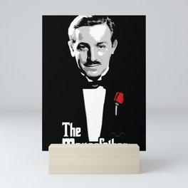 Walt E.Disney, The Mousefather Mini Art Print