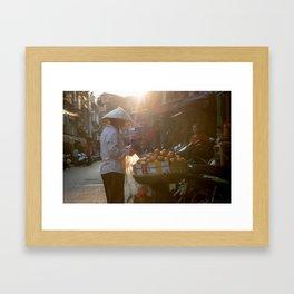 Vietnam Streets Framed Art Print