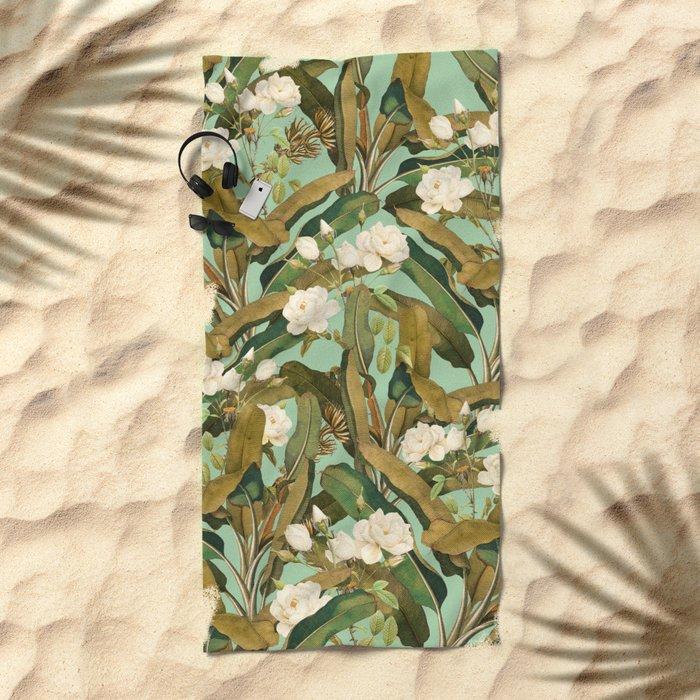 Tropical Jungle Beach Towel