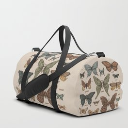 Butterflies and Moth Specimens Duffle Bag