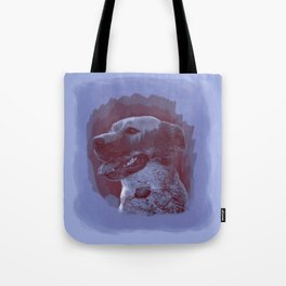 Nature Dog Tote Bag