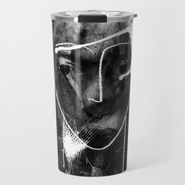 portrait painting Travel Mug
