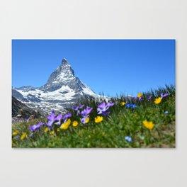 Matterhorn, Switzerland Canvas Print