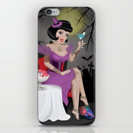 Witch Pin-up iPhone Skin