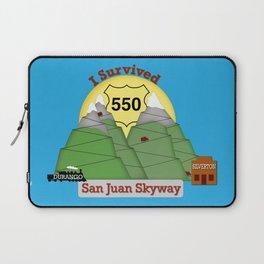 I Survived HWY 550 Durango to Silverton Laptop Sleeve