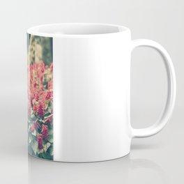 In red Coffee Mug