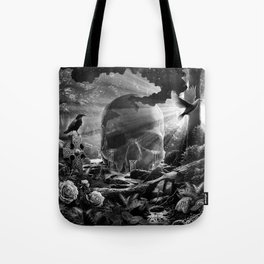 XIII. Death & Rebirth Tarot Card Illustration (Alternative Version) Tote Bag