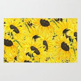 sunflower pattern 2018 1 Rug