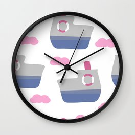 Happy journey Wall Clock