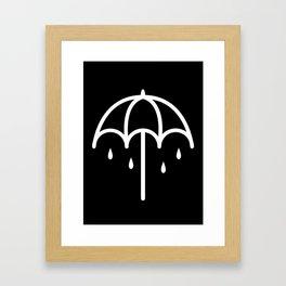 BMTH Umbrella Framed Art Print