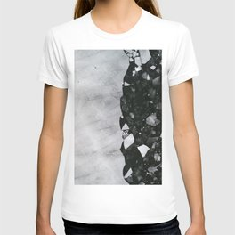 Winters Edge - Aerial Photography T-shirt