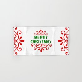 Merry Christmas Hand & Bath Towel