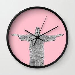 Christ Redeemer Rio de Janeiro - Art Wall Clock