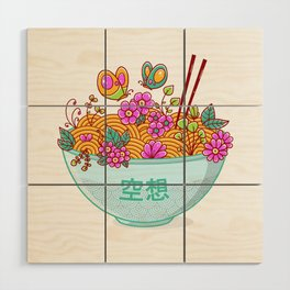 Ramen Fantasy Wood Wall Art