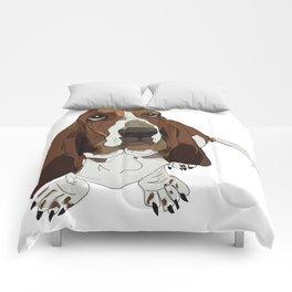 Basset Hound Comforters