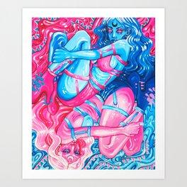 Duality Art Print