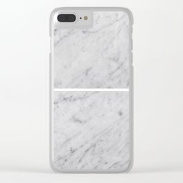 Gray Slabs of Granite Clear iPhone Case