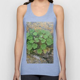 Life on a stone wall Unisex Tank Top