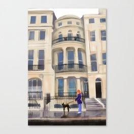 Brighton Flat Canvas Print