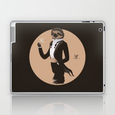 Animal Fashion: S is for Sloth in a smoking. Laptop & iPad Skin