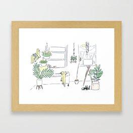 Plant Bliss Framed Art Print