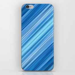 Ambient 1 in Blue iPhone Skin