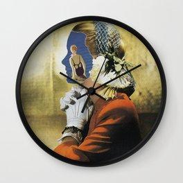 Chiasmus Wall Clock