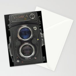 Vintage Camera (Yashica  124 G) Stationery Cards